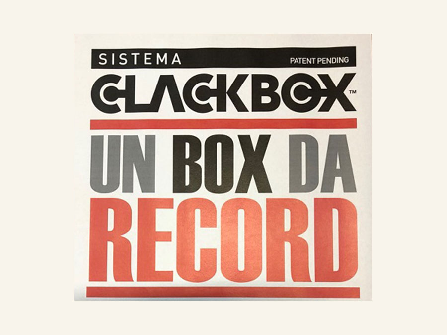 Clackbox - un box da record